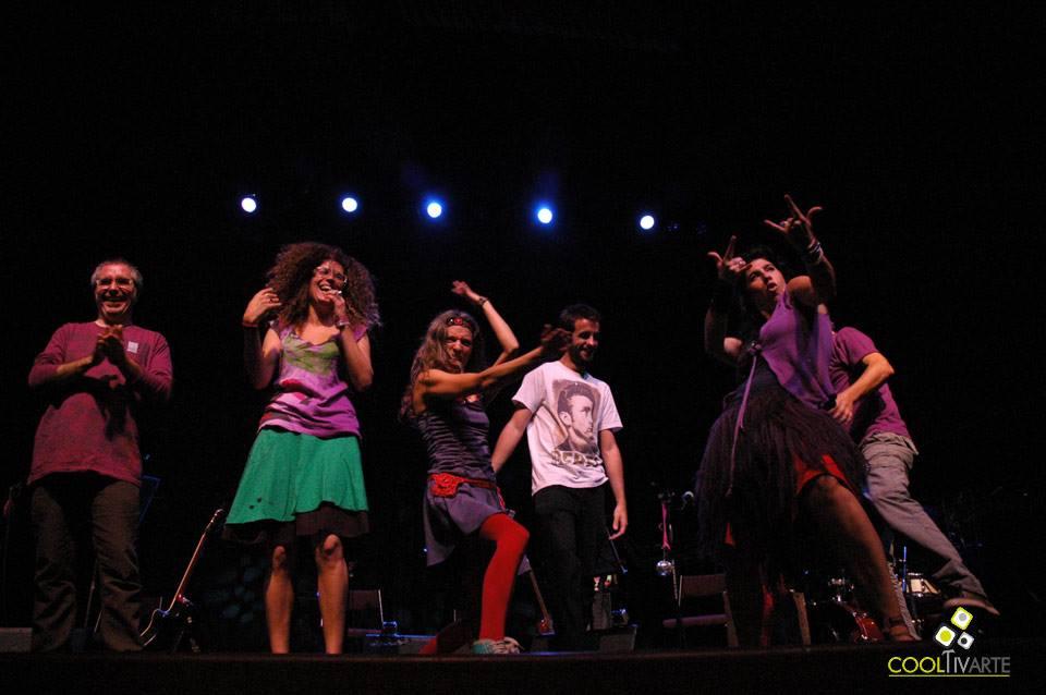 imagen - rovalina en Teatro el Galpón - Noviembre 2012 © Federico Meneses