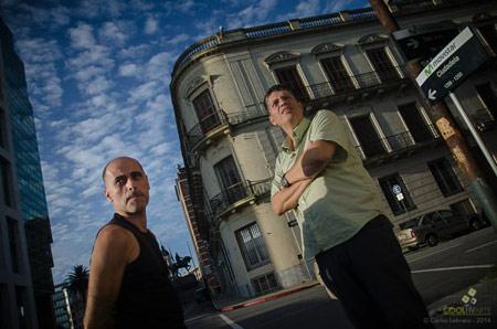 Entrevista a Edu Pitufo Lombardo y a Jorge Schellemberg a días de presentarse en el Auditorio Nacional del Sodre © Carlos Lebrato