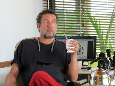 Nelson Scartaccini - Foto gentileza del entrevistado
