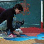 Pintando las veredas de tu ciudad