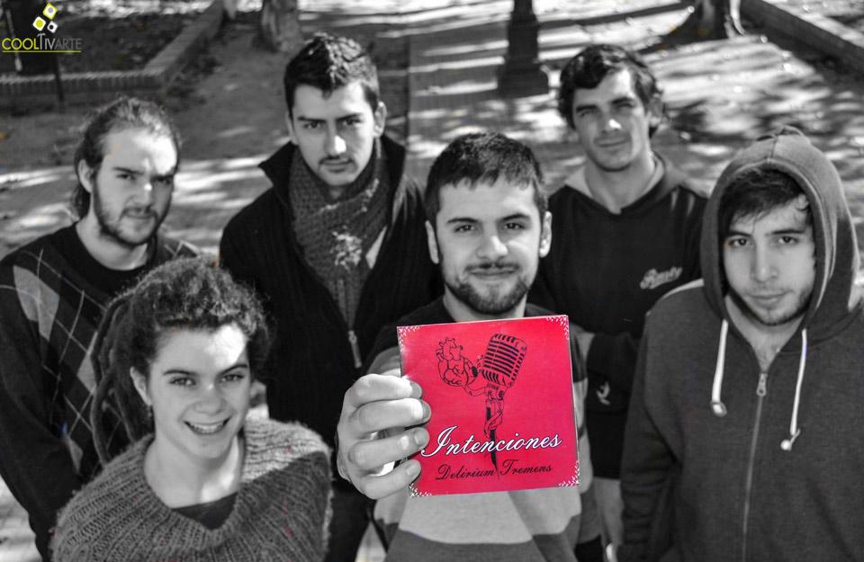 """Delirium Tremens de la ciudad de Rosario (Colonia) se presenta con su primer disco """"Intenciones"""" foto: @danielahernandezfotografia"""