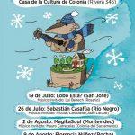 Música en la Casa de la Cultura de Colonia  |  ENTRADA LIBRE