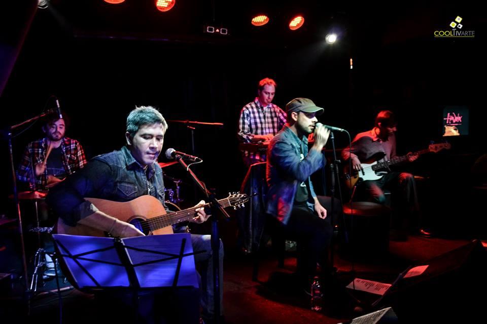 LA SAGA en Hendrix Music Bar - fotografía: Daniela Hernández