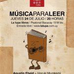 ¡Nueva entrega de Música para Leer!