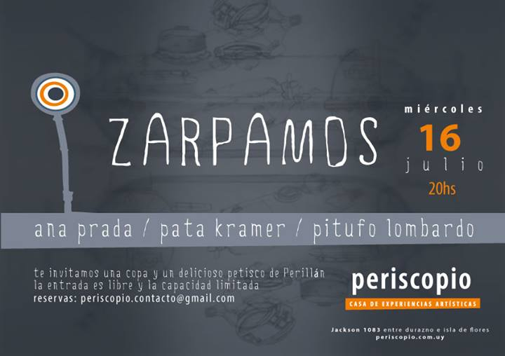 PERISCOPIO – ASOMANDO EN LA AGENDA CULTURAL - 16 de Julio de 2014 Inauguración