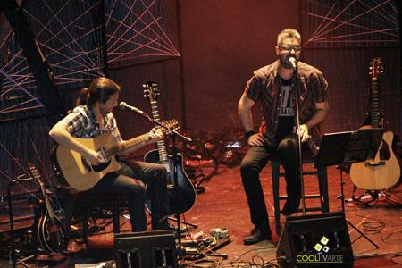 Alejandro Spuntone y Guzmán Mendaro - Foto: Andrea Villar