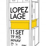 Exposición Lopez Lage MNAV sala 5/ 11 de septiembre