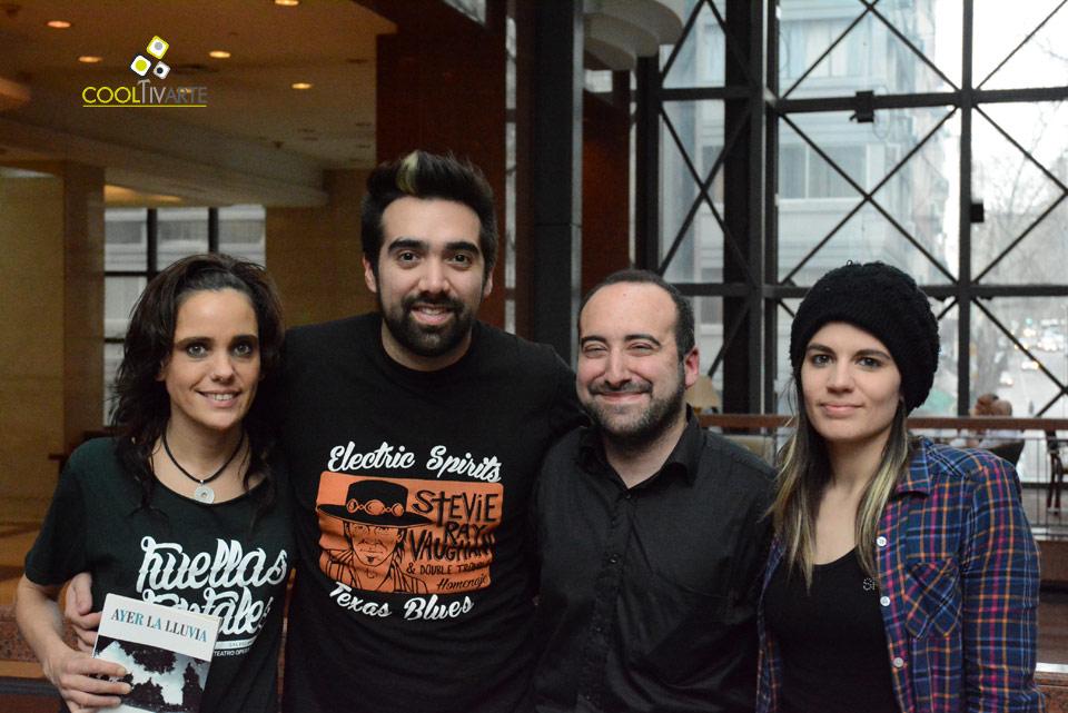 Eruca Sativa en Uruguay: una Conversación con Lula Bertoldi, Brenda Martin y Gabriel Pedernera - Foto: Federico Meneses