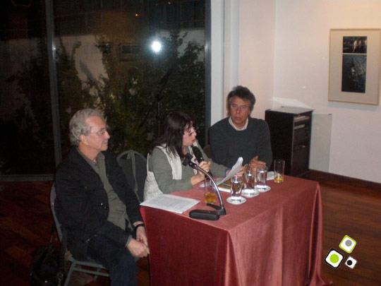 """Luis Bravo presenta su libro """"Escrituras Visionarias"""" - Abril 2008 - Foto: Federico Meneses"""
