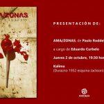 Presentación de Ama/zonas de Paulo Roddel