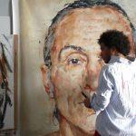 Los retratos efímeros de César Biojo