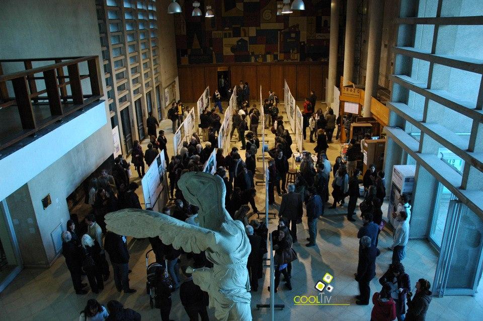 imagen - Concurso para la Remodelación de la Plaza Independencia. Muestra y entrega de premios - Facultad de Arquitectura - Noviembre 2010 © Federico Meneses