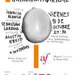 Ismael Collazo Viernes 10 de Octubre / Alianza Francesa