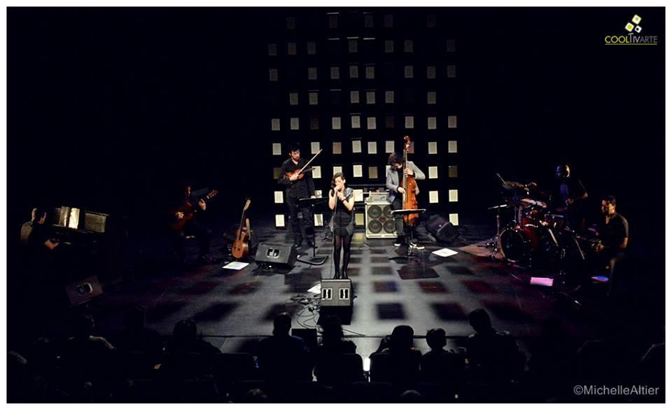 imagen - Maia Castro \ Cierre de gira 2014 \ 18 y 19 de Octubre 2014 \ Auditorio Nacional del SODRE, Dra. Adela Reta . Fotografías: Michelle Altier