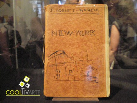 imagen - Presentación de New York, de Joaquín Torres García. Edición. y prólogo: Juan Fló. Editorial HUM, 2007 © Federico Meneses