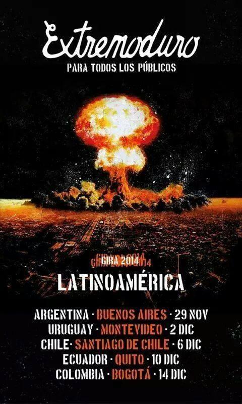 imagen - Extremoduro regresa a Uruguay