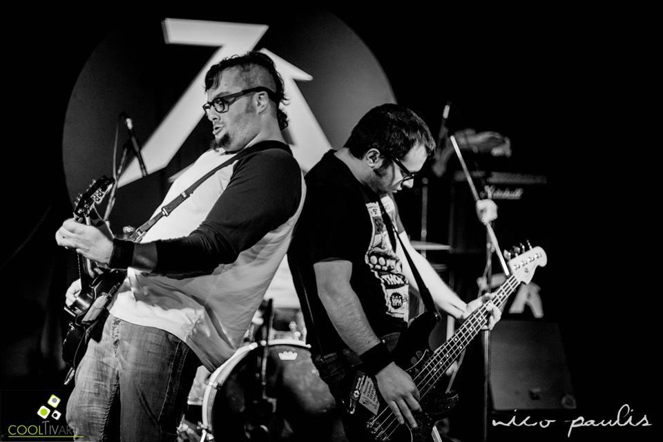 imagen - Agente 86 / Na-K / Abismo - 7A Bar - 26/07/14 © Nico Paulis