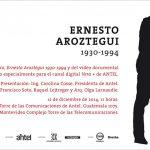 Presentación catálogo y documental Ernesto Aroztegui