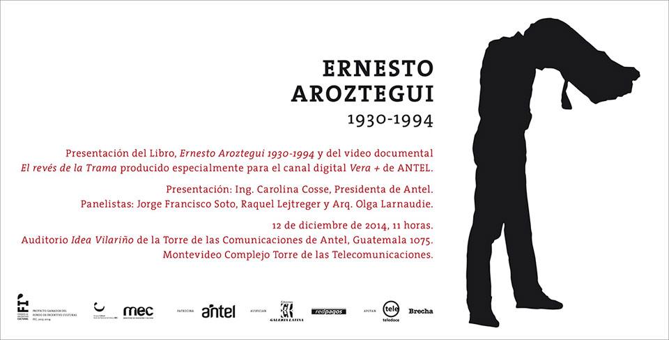 imagen - Presentación catálogo y documental Ernesto Aroztegui