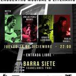 Presentación Musical & Literaria en Barra Siete