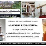 ASUNTOS PENDIENTES – MUESTRA DE JORGE F. DOLDAN