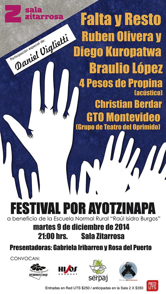 imagen - Festival por Ayotzinapa