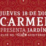 """CARMEN PI en vivo, show lanzamiento de su reciente disco """"Jardín Carmín"""""""