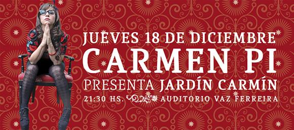 imagen - afiche Carmen Pi