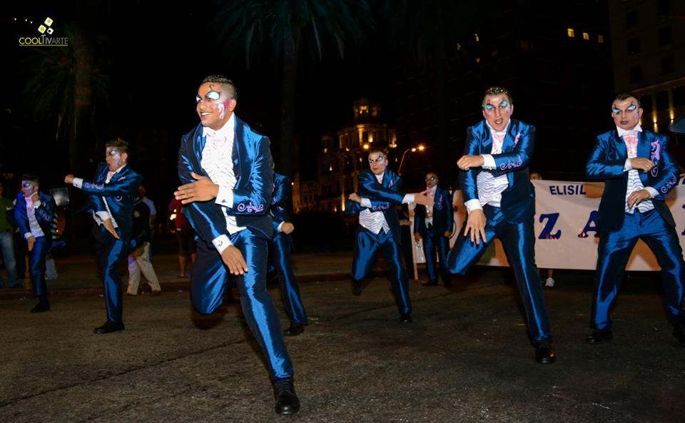 imagen - Parodistas Nazarenos en desfile inaugural Carnaval de Uruguay 2015 Fotos © Daniela Hernández