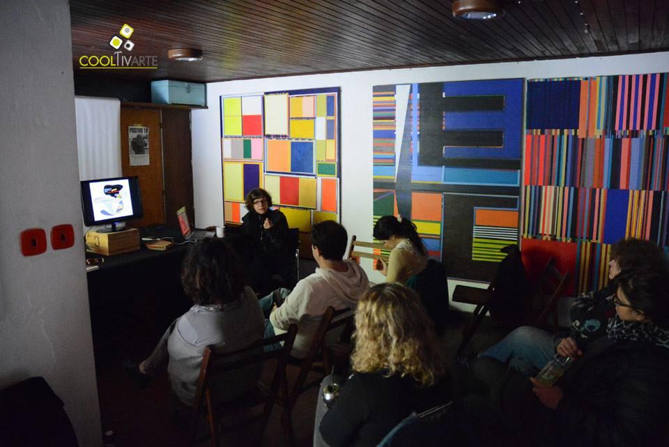 imagen - Arte y Crítica Cultural Latinoamericana. Conceptos claves en el desarrollo de las prácticas artísticas contemporáneas Docente: Jacqueline Lacasa FAC - Fundación de arte contemporáneo Foto: Federico Meneses