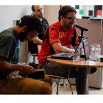"""Presentación """"BESALA COMO SABÉS"""" Patricio Hidalgo y Agustín Lucas"""
