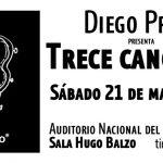 DIEGO PRESA PRESENTA «TRECE CANCIONES»