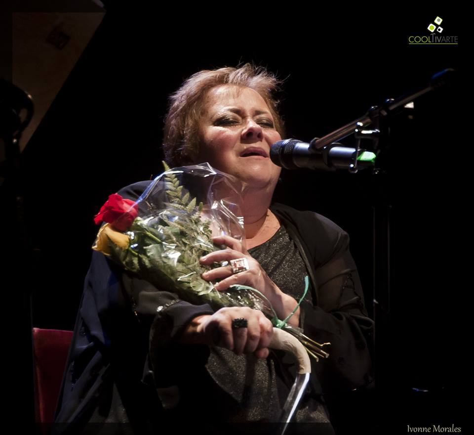 imagen - Homenaje a Arlett Fernández en Sala Zitarrosa 25 de Marzo 2015 Foto © Ivonne Morales