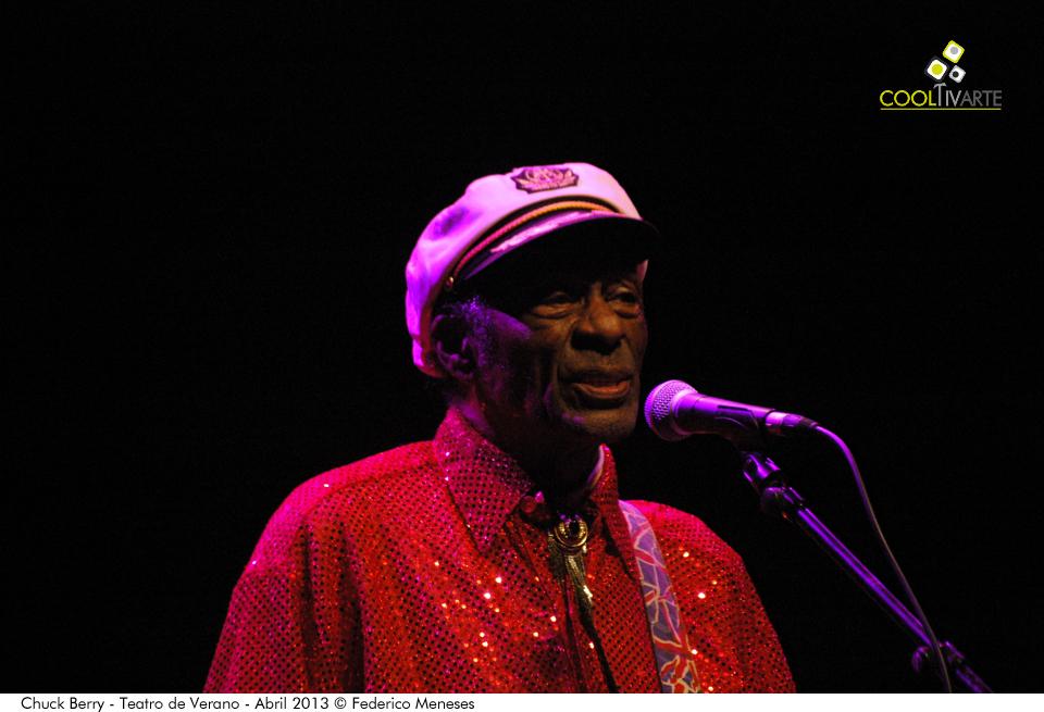imagen - Chuck Berry - Teatro de Verano - Abril 2013 © Federico Meneses
