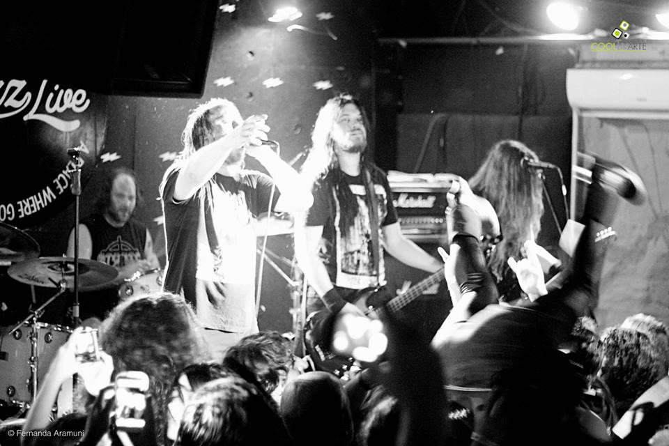imagen - Entombed A.D. Bluzz Live Montevideo Marzo 2015 - Foto © Fernanda Aramuni