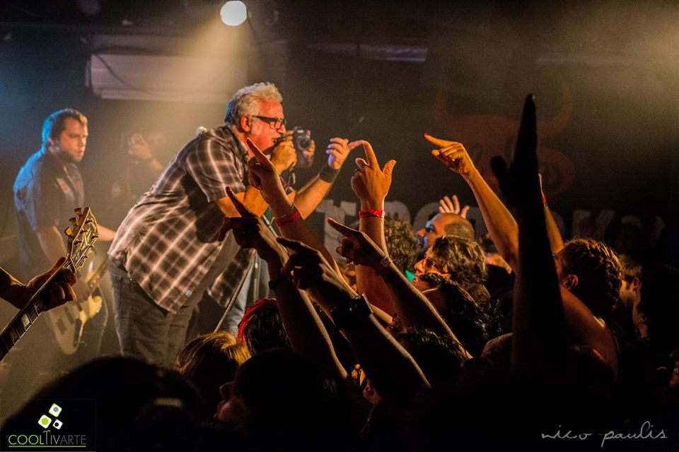 imagen - Noches Calientes - TROTSKY VENGARAN en Bluzz live - Febrero 2015 - Foto © Nicolás Paulís