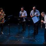 Saxofones por cuatro