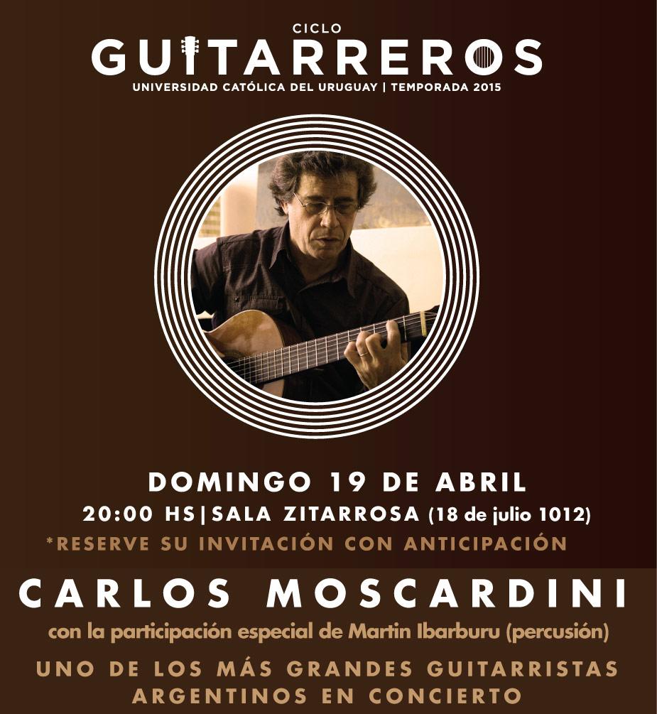 imagen - Ciclo Guitarreros: Carlos Moscardini