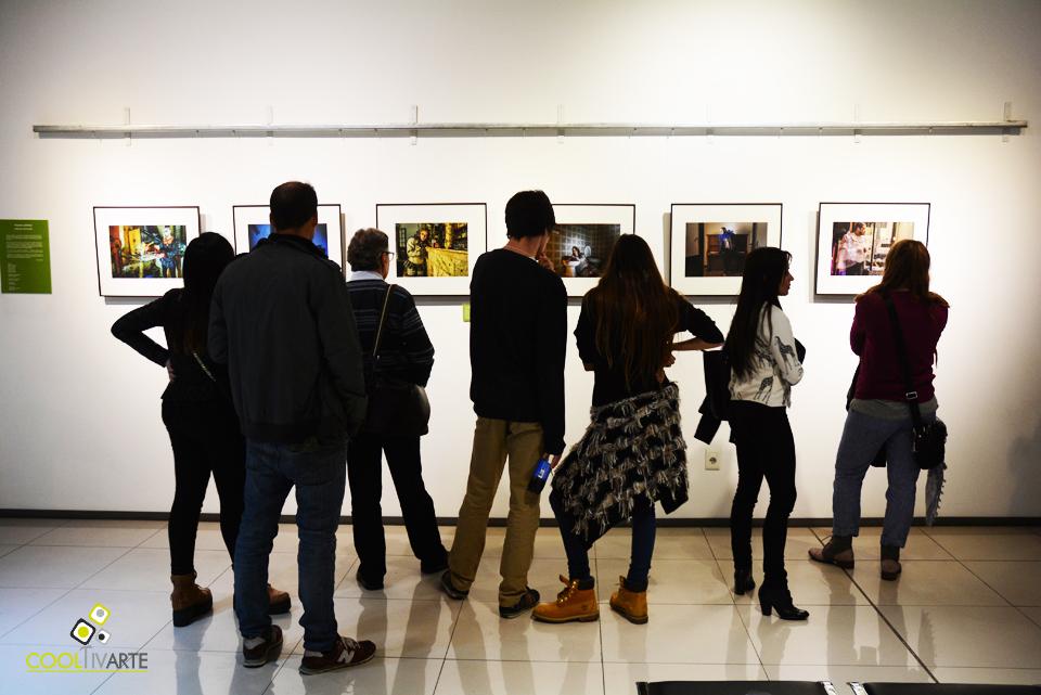 """imagen - INAUGURACIÓN """"MUJERES PÚBLICAS"""" ALEJANDRO PERSICHETTI - Viernes 8 de mayo - Sala de Exposiciones Fundación FUCAC - Foto © Federico Meneses"""