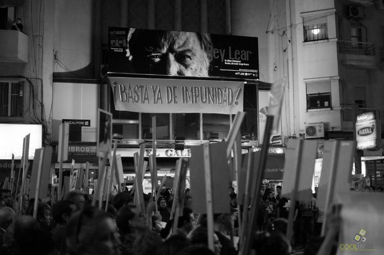 XX Marcha del Silencio _ Foto: Cintya Posse