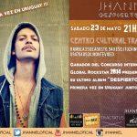 """Jhanniel presenta """"Despierto"""" en Uruguay"""