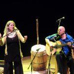 Berta Pereira y Pollo Piríz en concierto