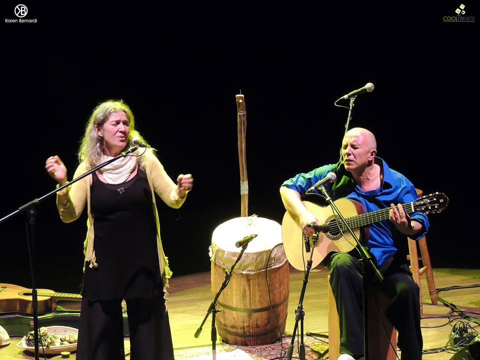 imagen - Berta Pereira y Pollo Piríz en concierto, Teatro Solís - 8 de Junio. Foto © Karen Bernardi