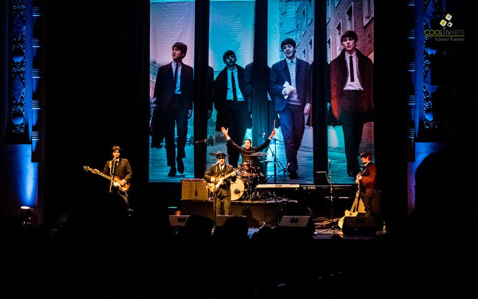 """imagen - Danger Four, nombrados """"Embajadores Itinerantes de los Beatles en el Mundo"""" por la BBC de Londres, en Sala Zitarrosa. 27 de Junio 2015 - Foto © Javier Fuentes"""