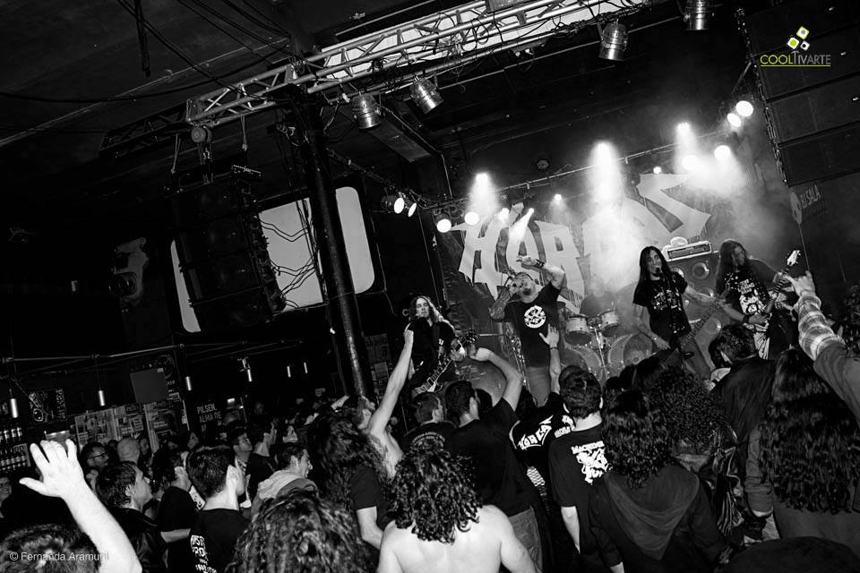 "imagen - HORCAS en BJ Sala ""Ahora O Nunca"" Tour 2015 - Junio Foto © Fernanda Aramuni"