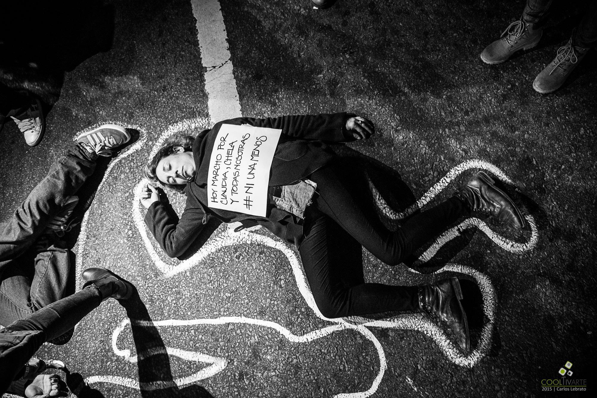 imagen - NI UNA MENOS – ¡TOCAN A UNA, TOCAN A TODAS! Fotos: Carlos Lebrato - Fotógrafo