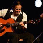 robaron 4 guitarras a Nicolás Ibarburu