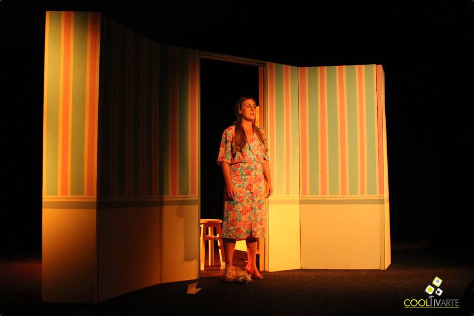 imagen - Potencialmente Haydée de Patricio Ruiz Unipersonal con Federica Presa 10 de Junio 2015 La Gringa Teatro Foto © Sinay Medouze