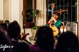 imagen - Sofar Sounds Montevideo, songs from a room. Tocaron Maca Mona Mu, Mountain Castles y Vincent Vega. 20 de Junio 2015 - Foto © Javier Fuentes