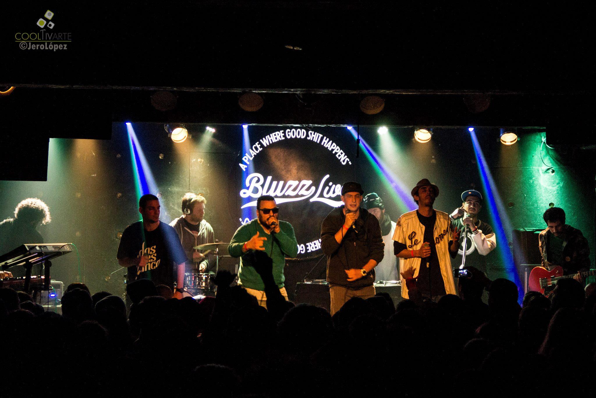 imagen - DOSTRESCINCO en Bluzz Live 18 de julio 2015 Foto © Jerónimo López